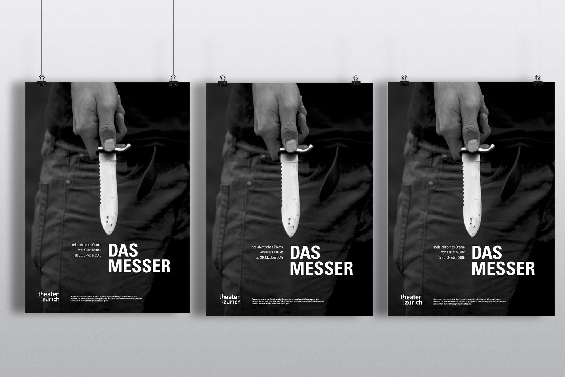3 Messer